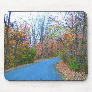 Beautiful Autumn Day Getaway Mouse Pad