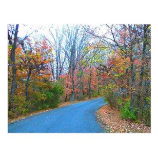 Beautiful Autumn Day Getaway Postcard