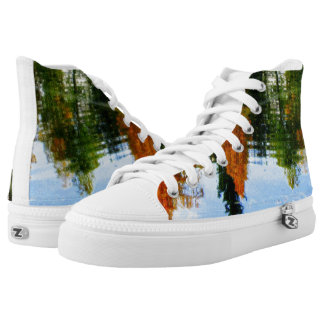 Beautiful autumn day High-Top sneakers