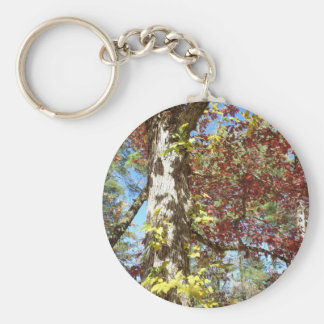 Beautiful Autumn Leaves Keychain