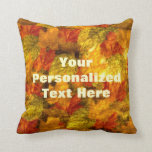 Beautiful Autumn Leaves Pillow