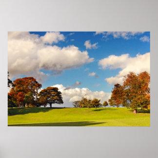 Beautiful Autumn, Scotland Poster