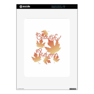 Beautiful Autumn Skin For The iPad