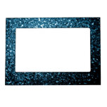 Beautiful Baby blue glitter sparkles Magnetic Frame
