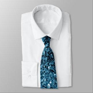 Beautiful Baby blue glitter sparkles Tie