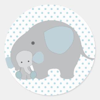 Elephant stickers zazzle - Stickers elephant chambre bebe ...