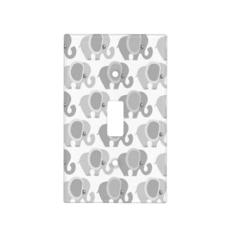 Beautiful Baby Elephants Light Switch Cover