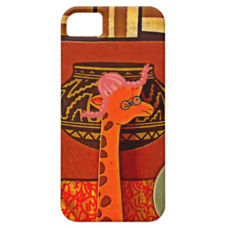 Beautiful baby funny giraffe iPhone SE/5/5s case