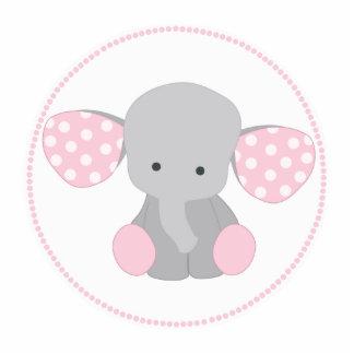 elephant baby shower photo statuettes cutouts sculptures zazzle