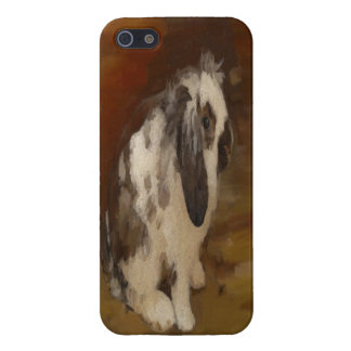 Beautiful Baby Lop Eared Rabbit Case For iPhone SE/5/5s