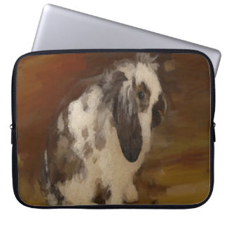 Beautiful Baby Lop Eared Rabbit Computer Sleeve
