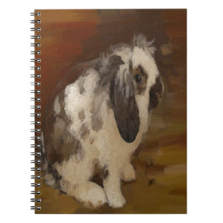 Beautiful Baby Lop Eared Rabbit/Kit Note Book