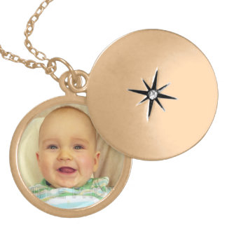 Beautiful Baby Photo Personalized Necklace