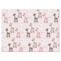 Beautiful Baby Pink Giraffe Tissue Paper