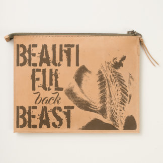 Beautiful Back Beast Travel Pouch