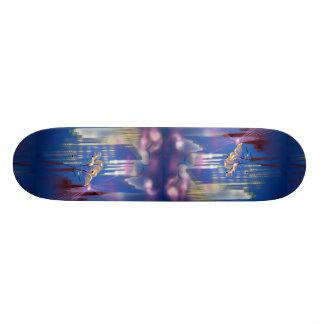 Beautiful Back to the future Skateboard Deck