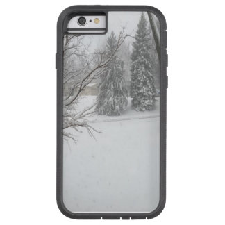 Beautiful Backyard Winter Snow Photo Tough Xtreme iPhone 6 Case