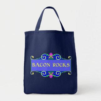 Beautiful Bacon!  Bacon Rocks! Tote Bags