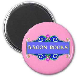 Beautiful Bacon!  Bacon Rocks! Magnet