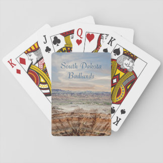 Beautiful Badlands Playing Cards