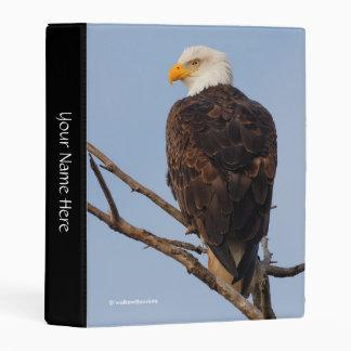 Beautiful Bald Eagle in a Tree Mini Binder