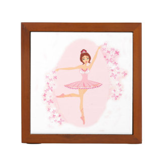 Beautiful ballerina  Desk Organiser