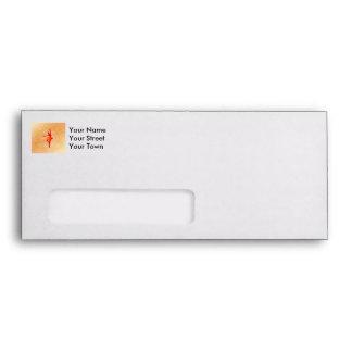 Beautiful ballerina envelopes