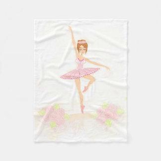 Beautiful ballerina Fleece Blanket