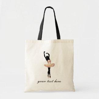 Beautiful Ballerina in pink Tote Bag