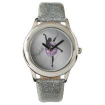 Beautiful Ballerina in Purple personalized design Watch