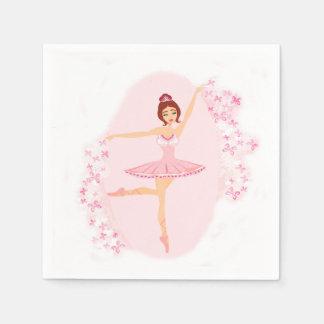 Beautiful ballerina  Napkin