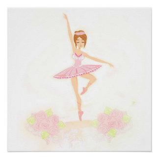 Beautiful ballerina  Poster