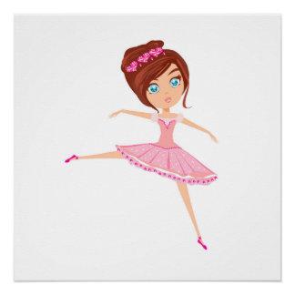 Beautiful ballerina  Poster Paper (Semi-Gloss)