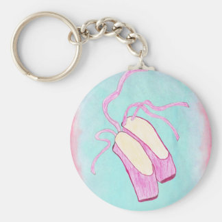 Beautiful Ballet Shoes Keychain