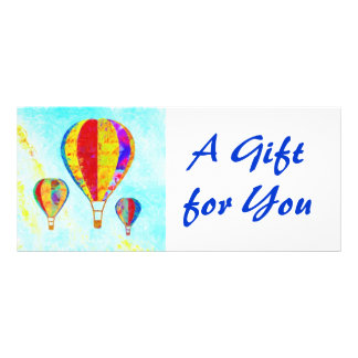 Beautiful Balloons Gift Certificate template