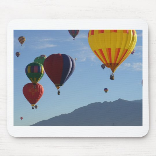 Beautiful balloons mouse pad