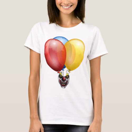 beautiful balloons of the circus of the horrors T_Shirt
