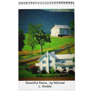 Beautiful Barns Wall Calendars