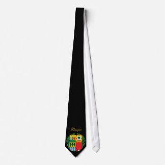 Beautiful Basque Flag Coat Arm Tie