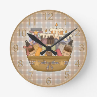 Beautiful Bath Time Clock
