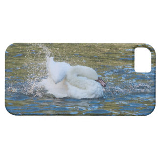 Beautiful bathing Swan Iphone6 plus case iPhone 5 Cover