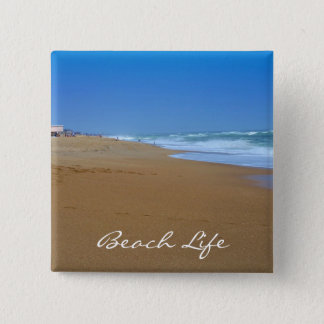 Beautiful Beach-Beach Life by Shirley Taylor Pinback Button