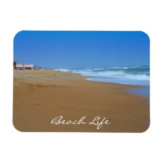 Beautiful Beach-Beach Life by Shirley Taylor Rectangular Photo Magnet