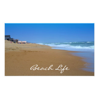 Beautiful Beach-Beach Life Photographic Print