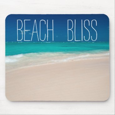 Beach Themed Beautiful Beach Bliss Mouse Pad