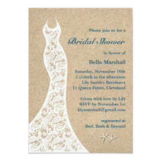 Turquoise Bridal Shower Invitations Announcements Zazzle