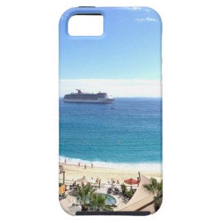 Beautiful beach panorama iPhone 5 cases