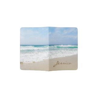 Beautiful Beach Personalized Name Passport Holder