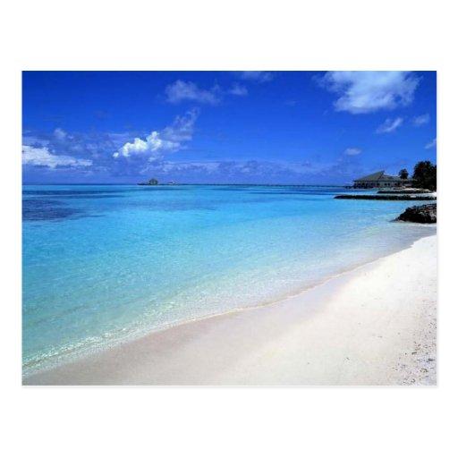 Beautiful Beach Post Card