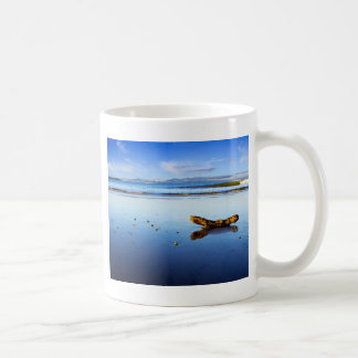 Beautiful Beach Scene At Dusk Coffee Mug